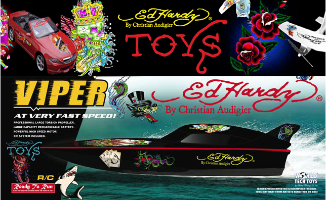 ed hardy toys
