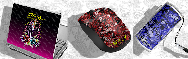 Ed Hardy computer accessories