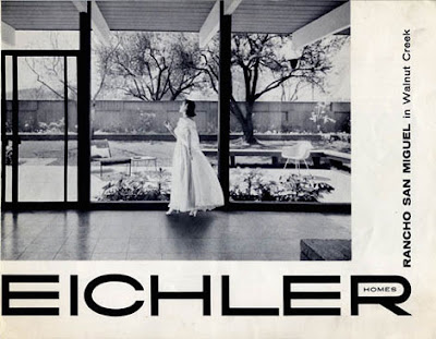 Vintage Eichler brochures