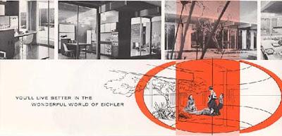vintage Eichler brochure