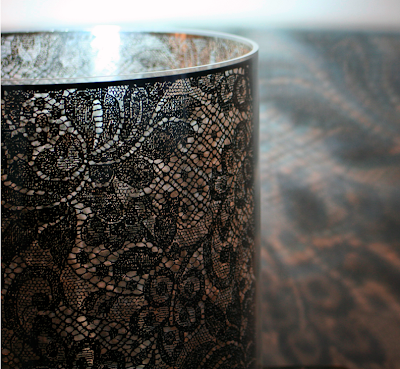 lace-etched glass