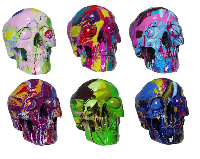 Just In Time For Halloween More Wild Skulls By Artist Damien Hirst If It S Hip It S Here