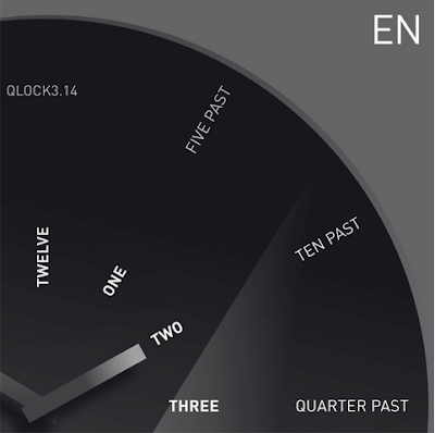 Beigert Funk QLOCK 3.14