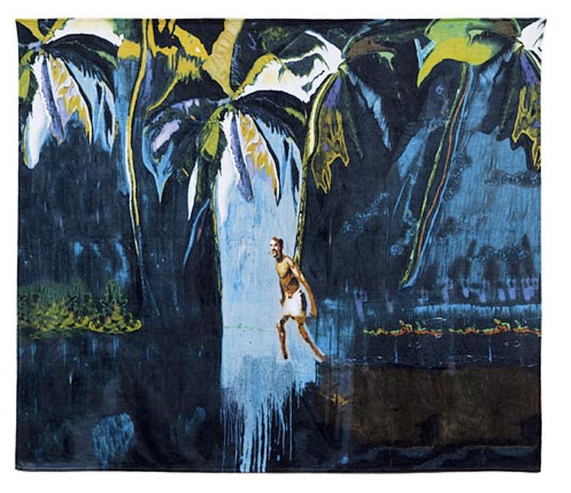 Peter Doig beach towel