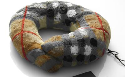 Burberry branded bagel