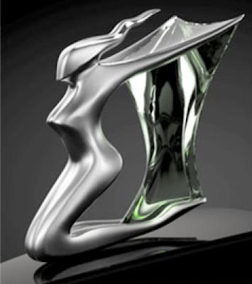 modern bentley hood ornament