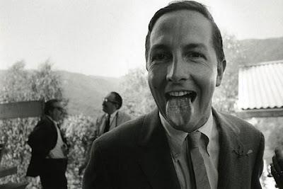 Robert Rauschenberg, 1966, photo by Dennis Hopper