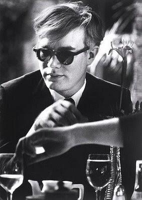 Andy Warhol, photo by Dennis Hopper, 1963