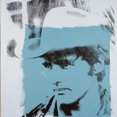Andy Warhol, 1971 Silkscreen of Dennis Hopper
