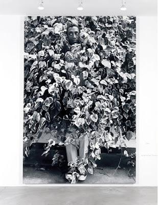 Dennis Hopper's Bill Cosby photograph as an oil painting, 2000