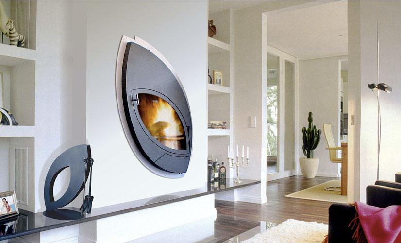 Fayco wall mounted fireplace