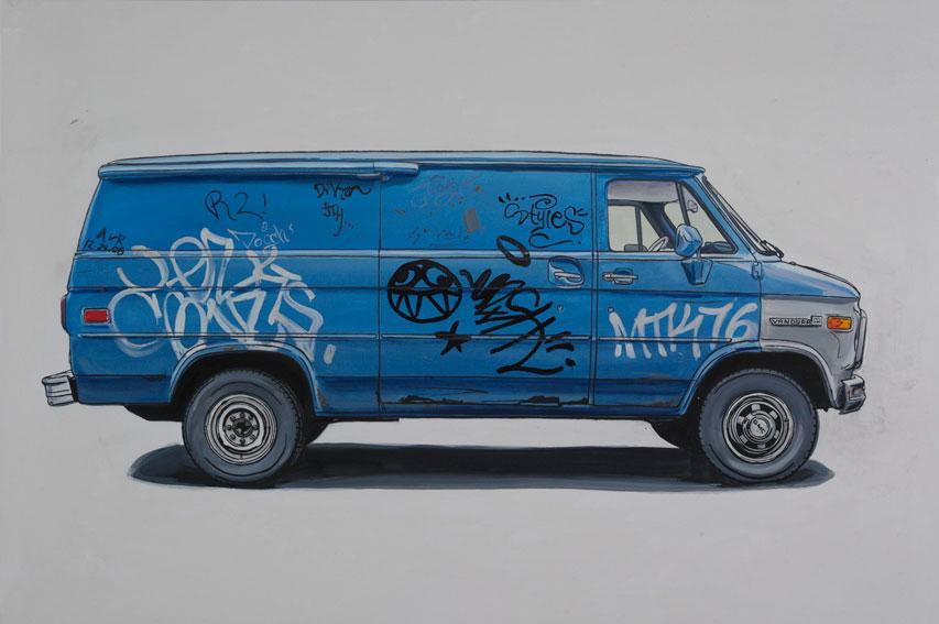 Kevin Cyr van painting