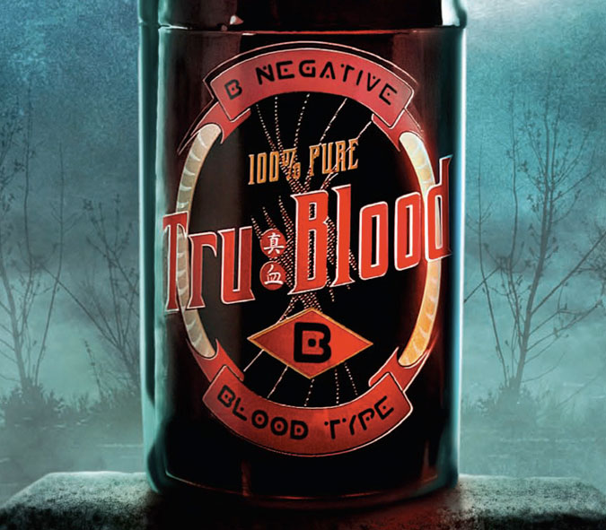 Tru Blood Carbonated Beverage