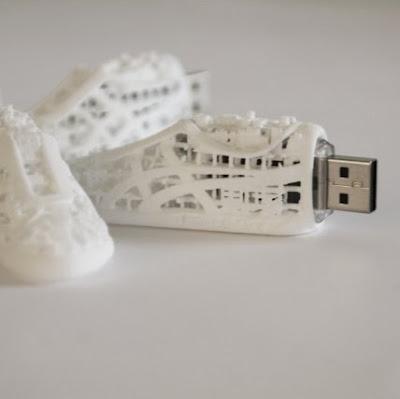 3D printed sneaker usb drive