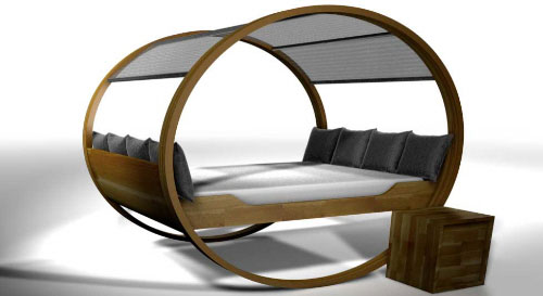 In 2007, they continued to design the rocking bed and trademarked the brand  name