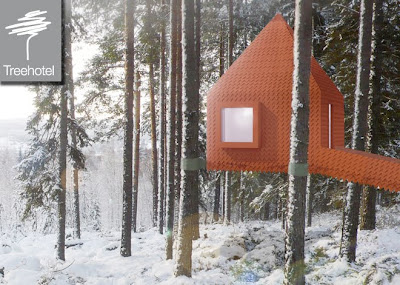 Treehotel in Northern Sweden