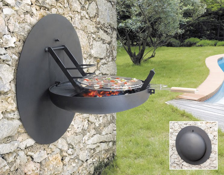 And The Focus Diago, A Free Standing Outdoor Grill And Fireplace:
