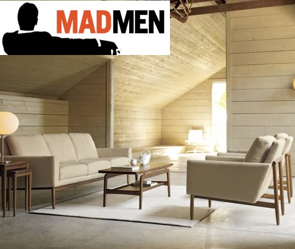if its hip its here archives madmen your living room dwr amc promote season 4 with a sweepstakes - Mad Men Sofa
