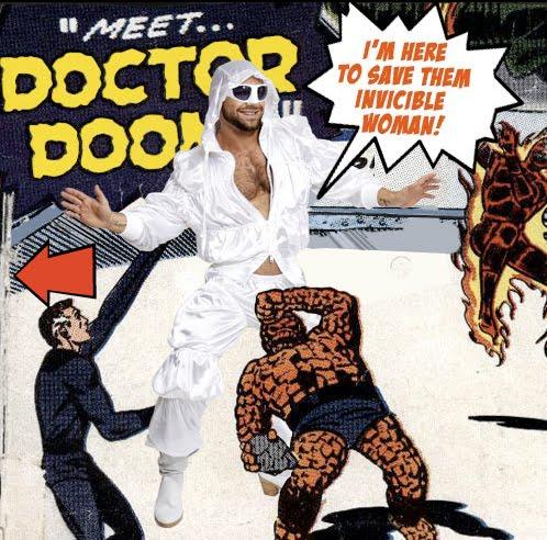 Fashion Designer Superhero Comic