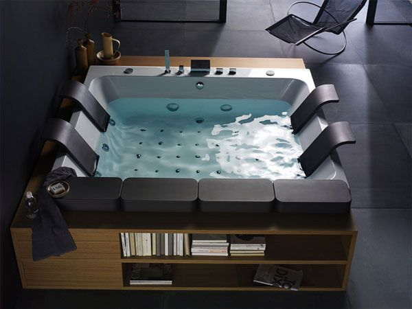 Jacuzzi indoor  Awesome Indoor Jacuzzi Tub Pictures - Interior Design Ideas ...