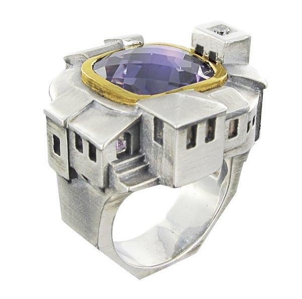 Aquamarine Rings Platinun