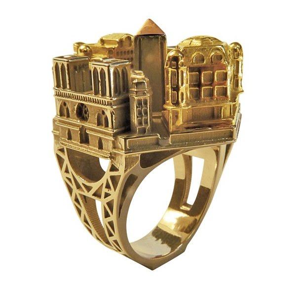 Dubai Gold Ring Design For Girl