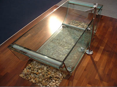 Prizma Studio glass Tulip Tub