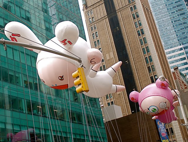 murakami thanksgiving day parade floats