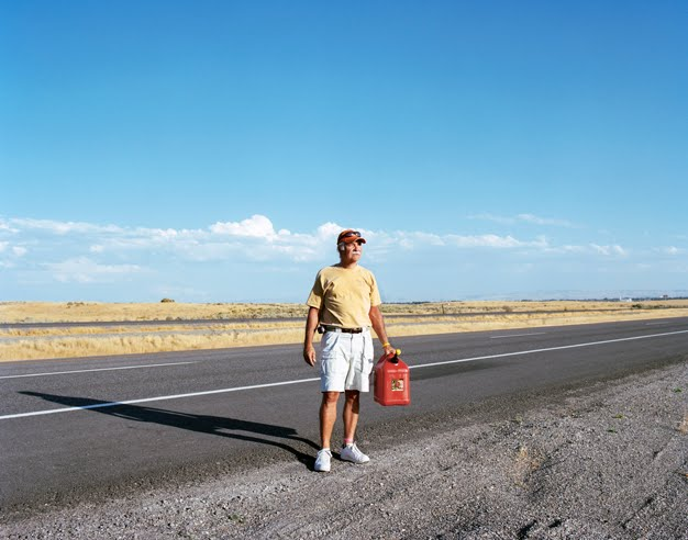 Phil, Route 93, Idaho by Amy Stein