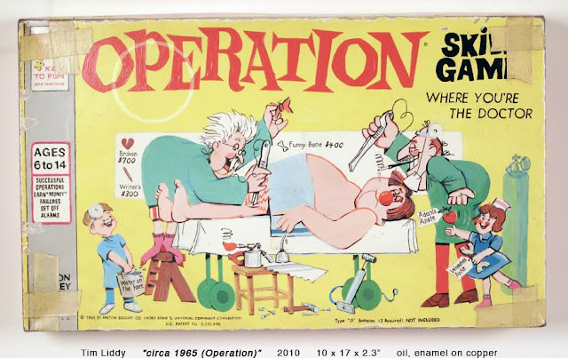 Realistic Paintings of Vintage Board Games
