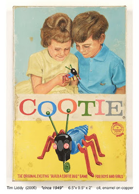 painting of cootie board game