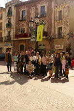 THE MAYOR OF MARTORELL WELCOME COMENIUS TEAM