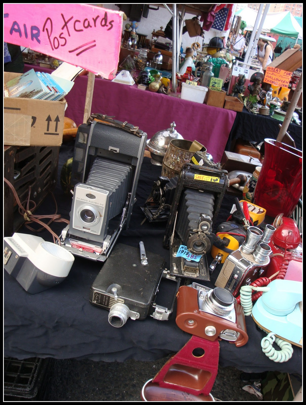 The Penny Parlor: Hell's Kitchen Flea Market, NYC