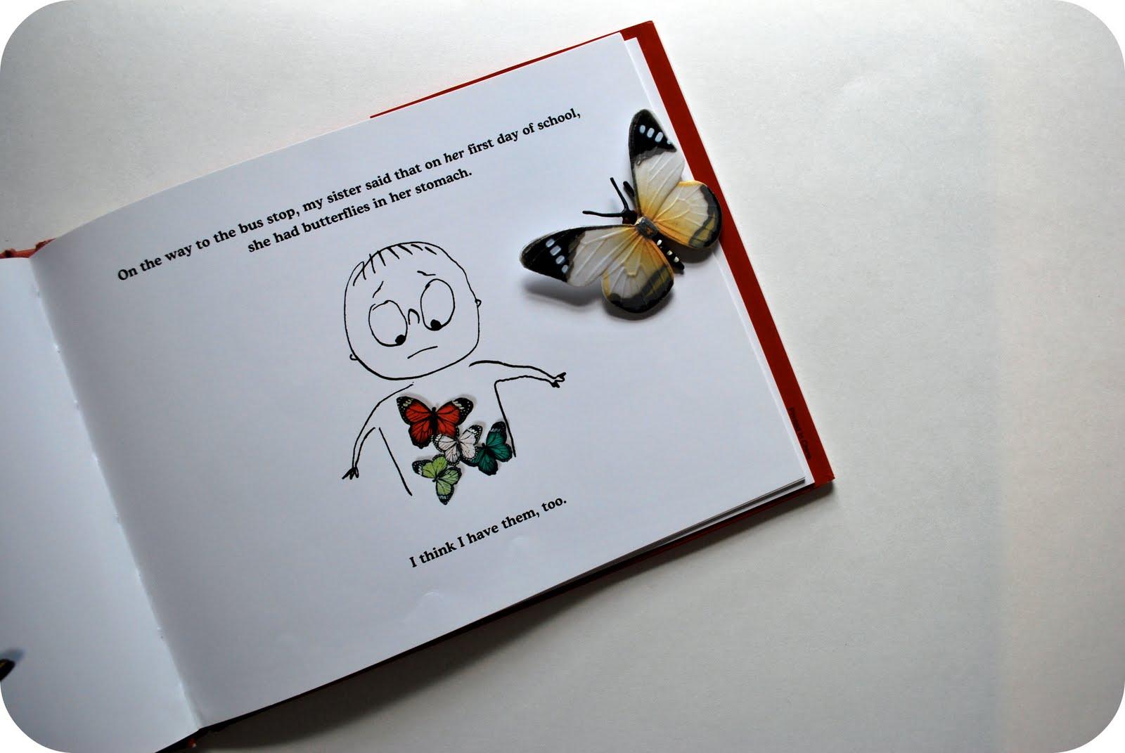 Chez Beeper Bebe: Read This: Butterflies In My Stomach
