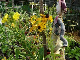 decorating your vegetable garden