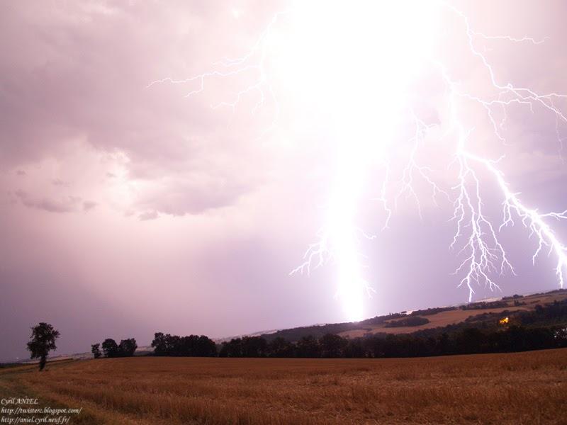 Passion météo: Orage électrique