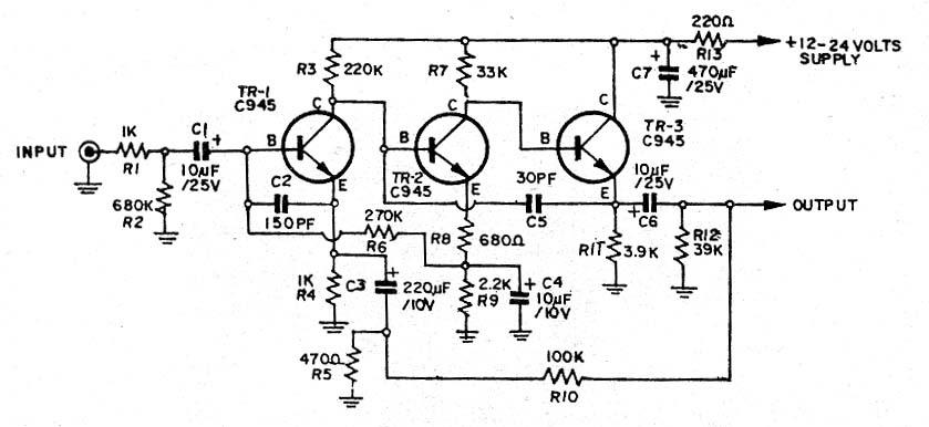 power amplifier  pre mic