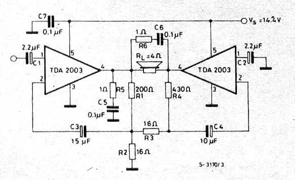 dhani tv service  ic amplifier
