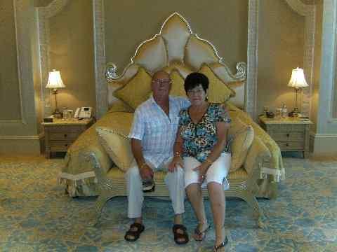 Goldene Hochzeit im Hotel Emirates Palace Abu Dhabi