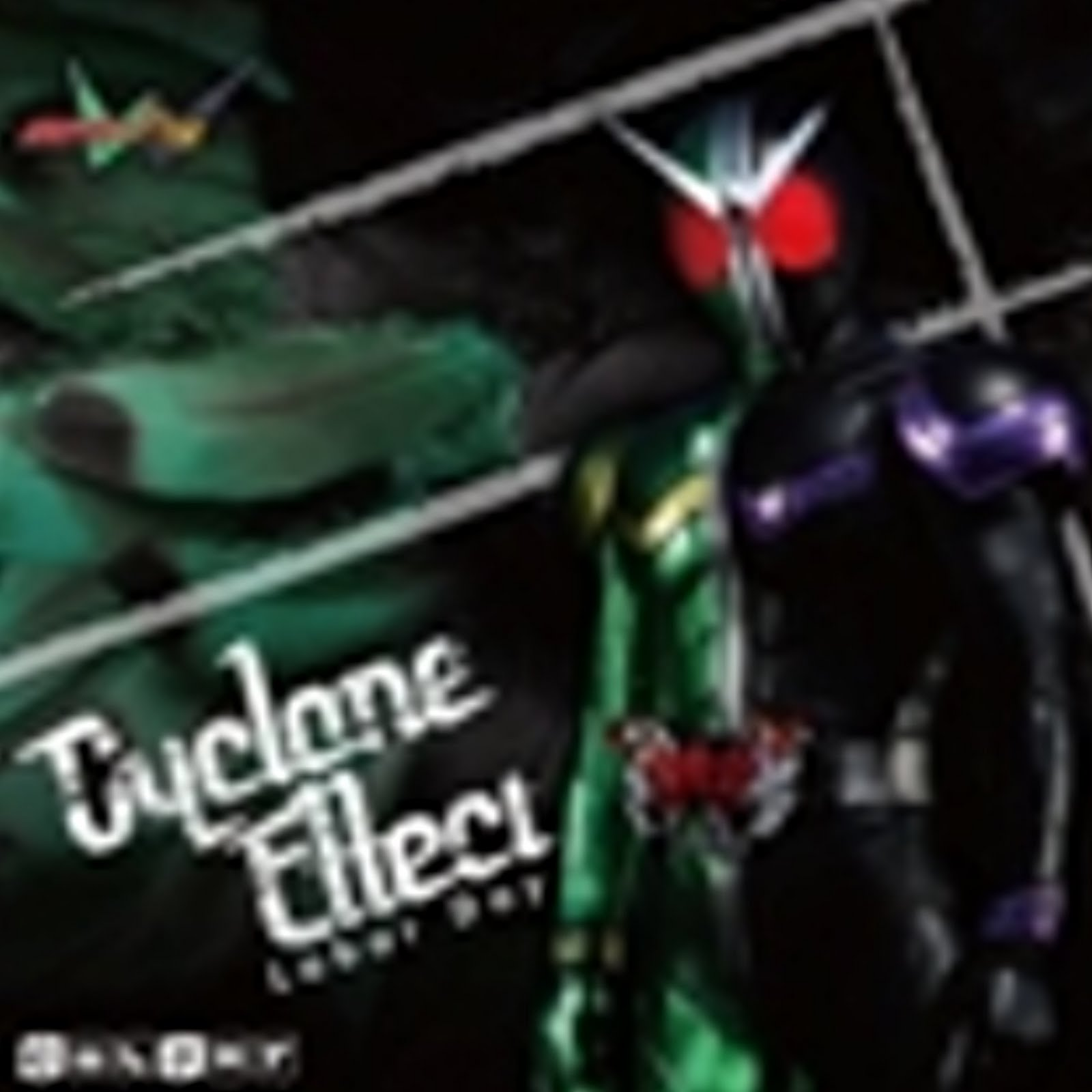 I Am Rider Mp3 Song Download: ~峰の世界~: Cyclone Effect Kamen Rider W CD COVER