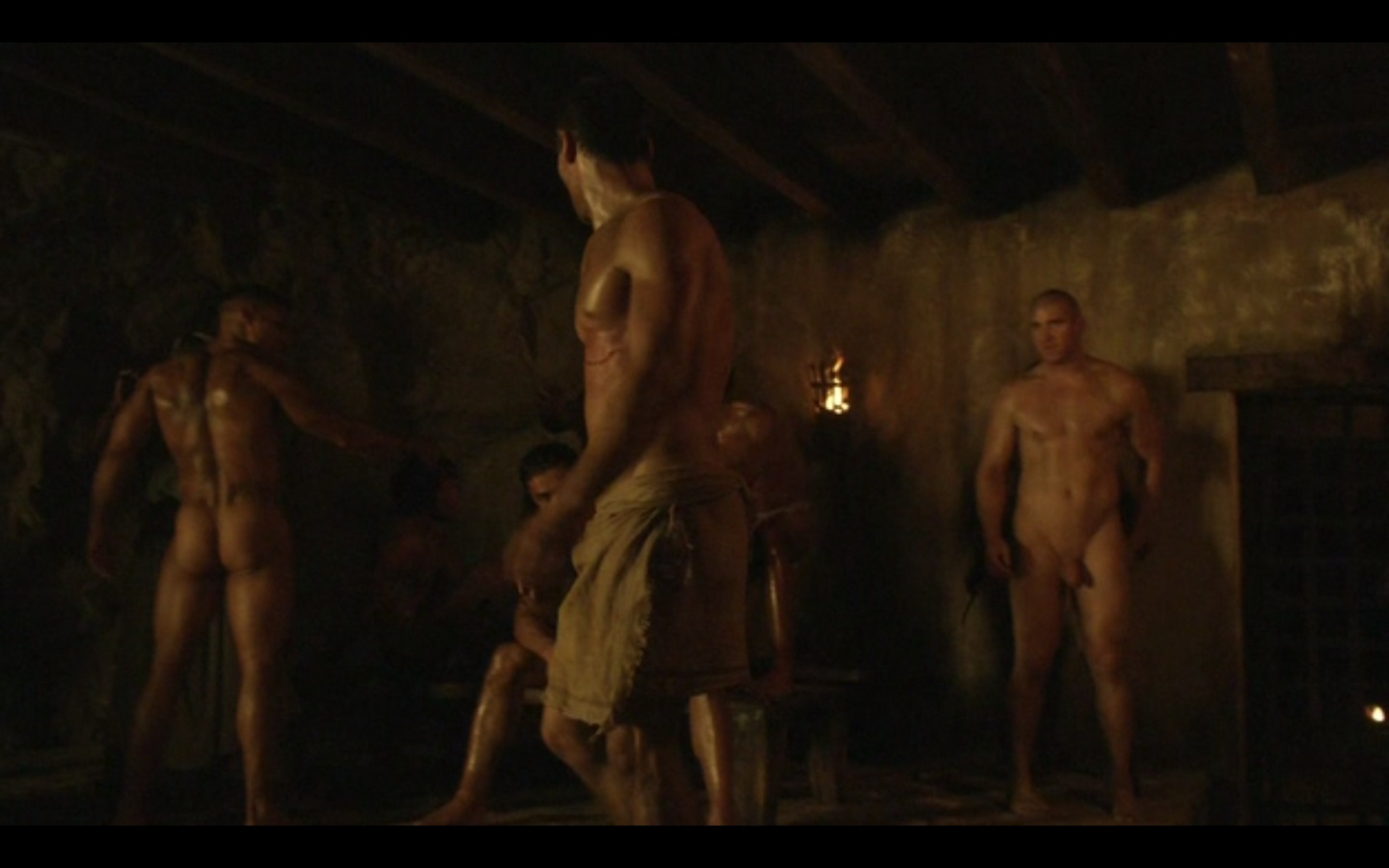 Spartacus blood and sand gay sex
