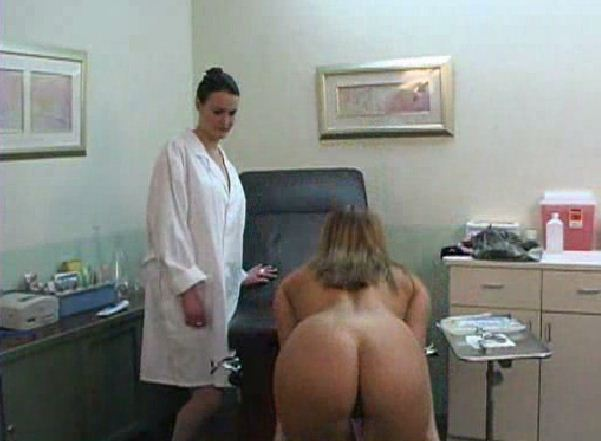 Naked at the doctors office