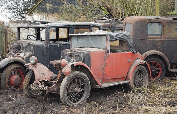 Barn Find Journal: Morris Minor Moggie Car