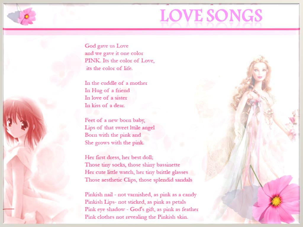 List of cute love songs