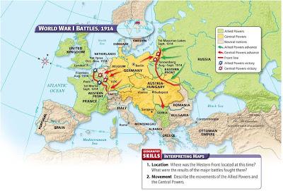 major empire of world war 1