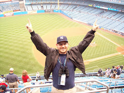 Dustin at Yankee Stadium, July 5, 2008 (vs. Boston Red Sox)