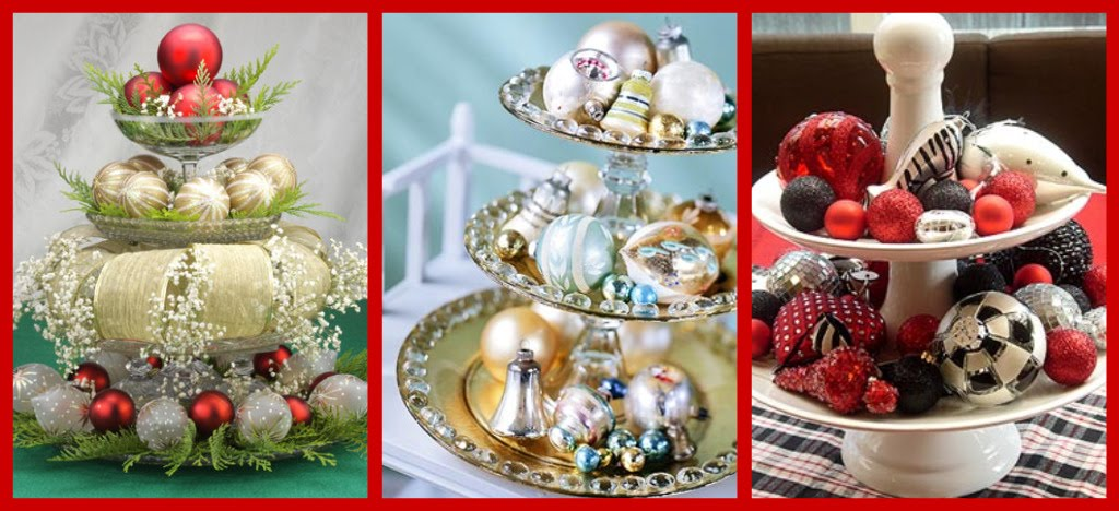 Christmas Centerpiece Ideas Celebrations At Home Tiered Christmas