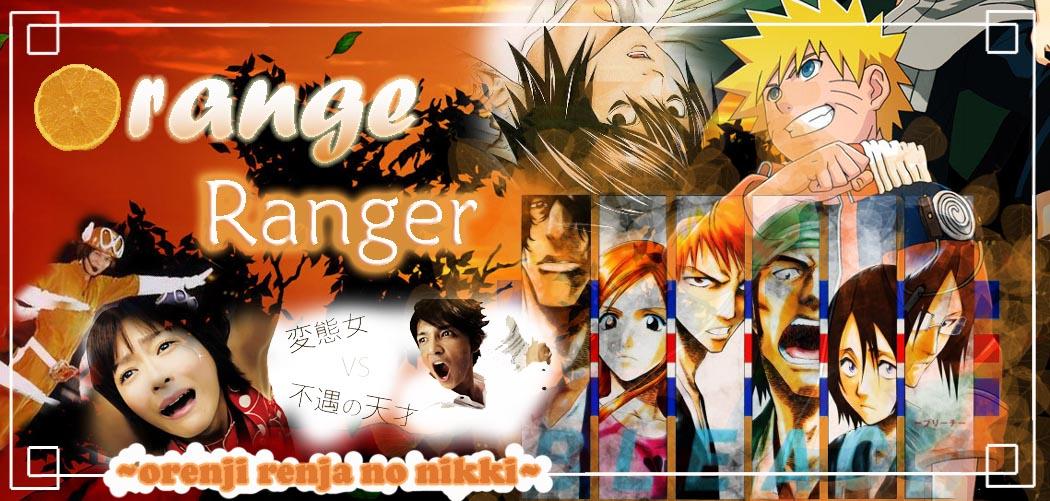 _Orange Ranger_