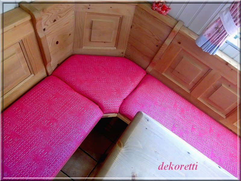 dekoretti s welt neuer kroko look in pink. Black Bedroom Furniture Sets. Home Design Ideas