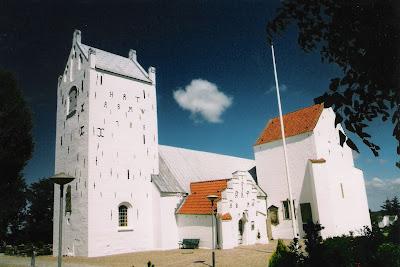 Church And Manor In Denmark Voer Church Voer Kirke And Voergard Dronninglund Herred Hjorring Amt